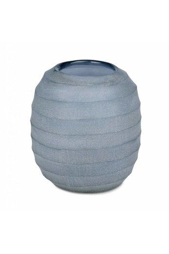 Guaxs Vase '' Belly L '' Indigo - (Per 2)