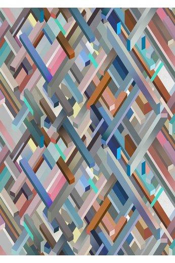 Kit Miles Kubrick | Lagoon Blue / Pink