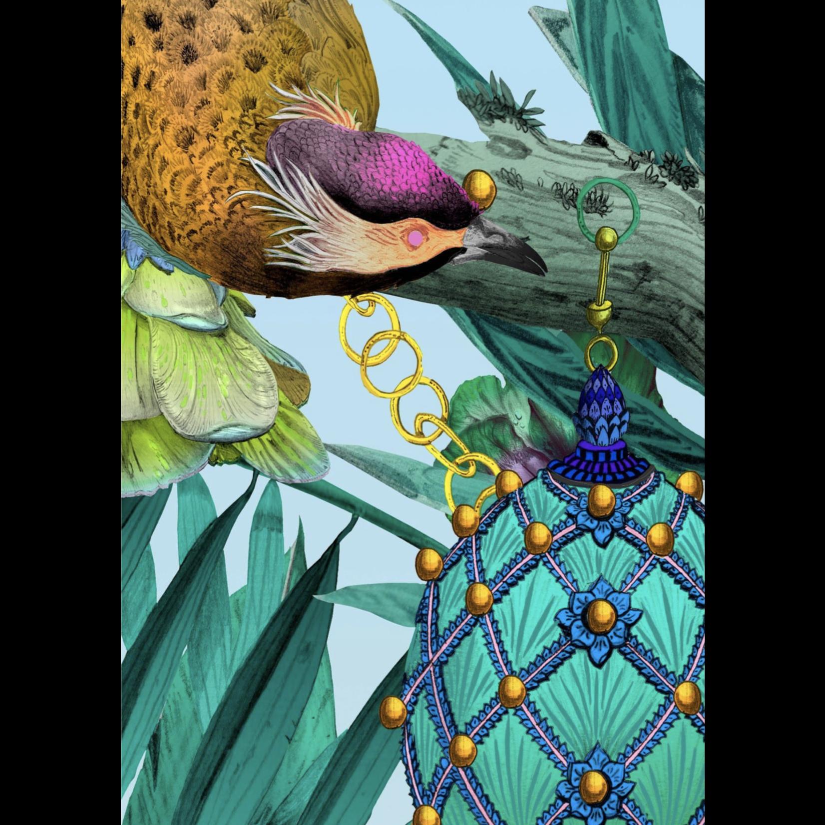 Kit Miles Ecclesiastical Botanica | Teal / Sky Blue