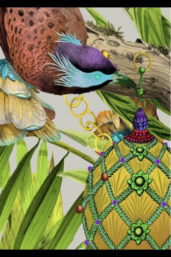 Kit Miles Ecclesiastical Botanica | Gold / Lime