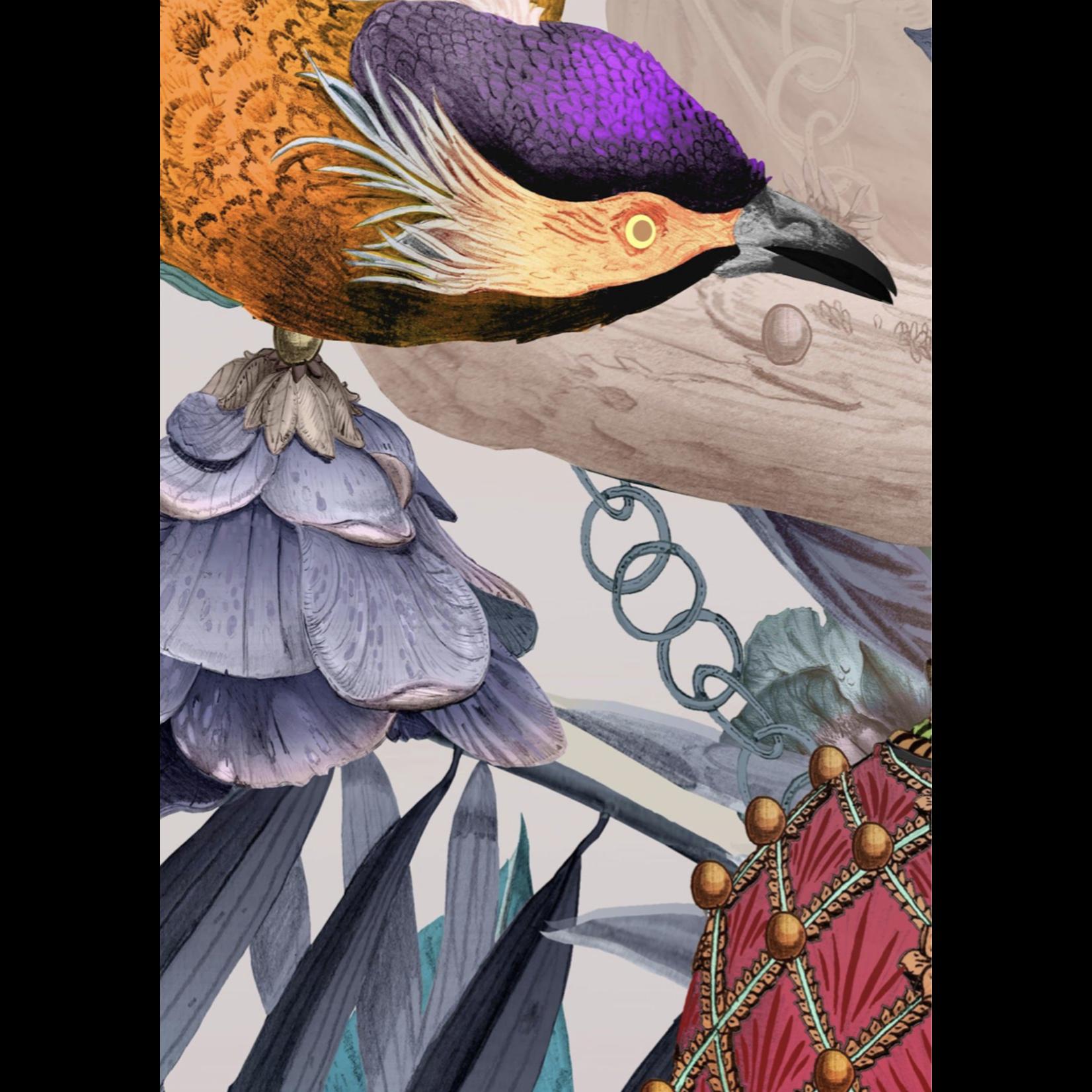 Kit Miles Ecclesiastical Botanica | Magentas | Panel B