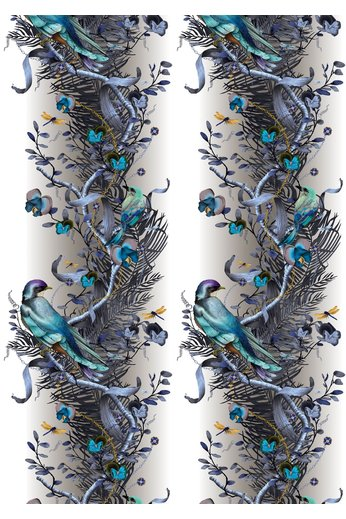 Kit Miles Bird in Chains | Blue and Gold