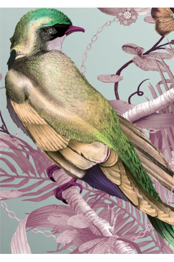 Kit Miles Bird in Chains | Roses et jaunes