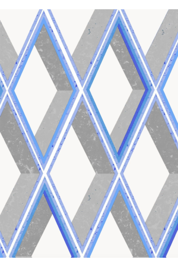 Kit Miles Trompe Loiel | Bright Gray and Blues