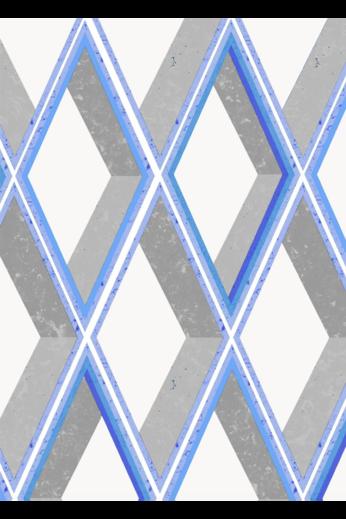 Kit Miles Trompe Loiel | Bright Grey and Blues