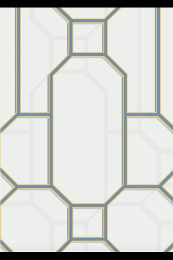 Kit Miles Fretwork | Craie / bleu