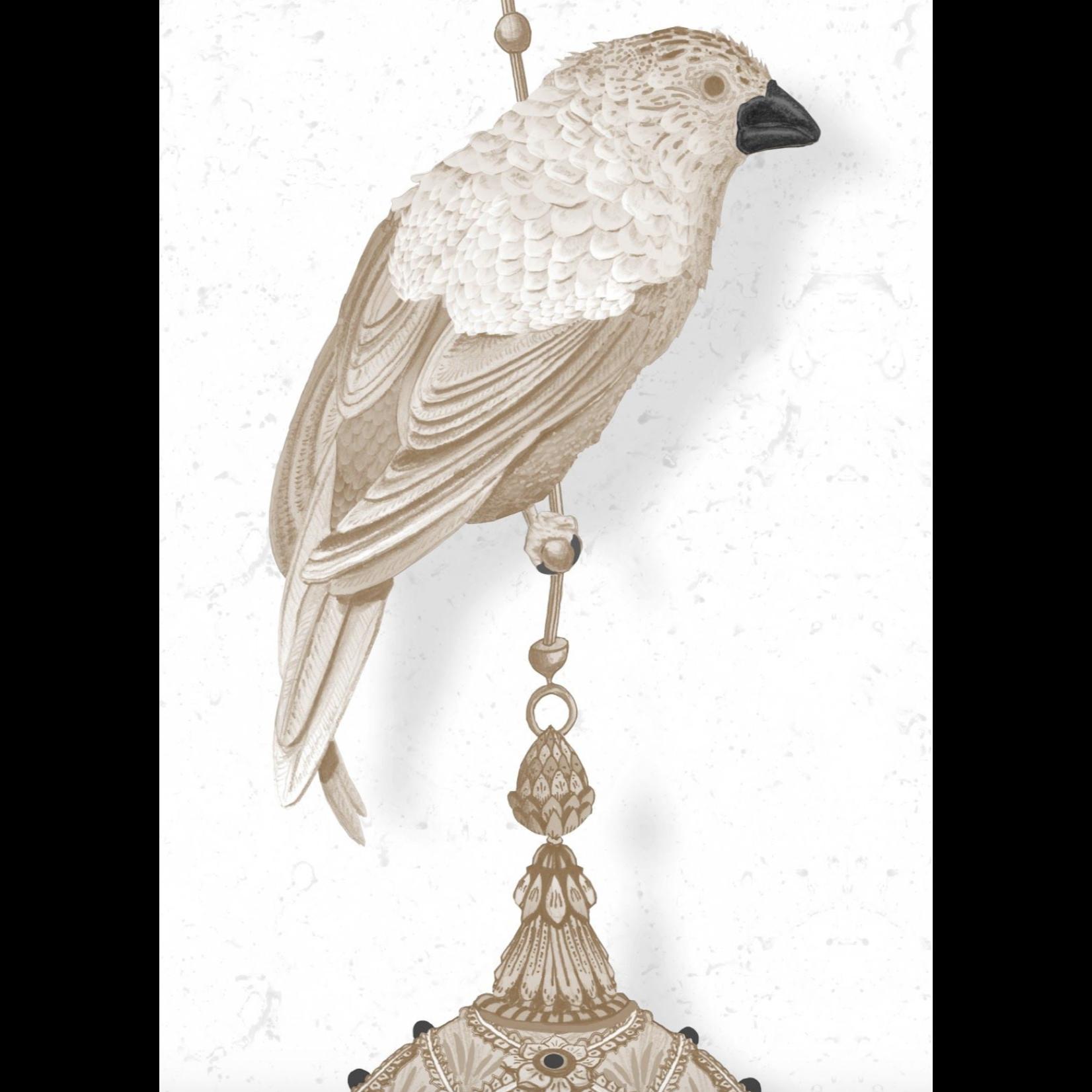 Kit Miles Pendentifs et oiseaux d'ornement   Pierre
