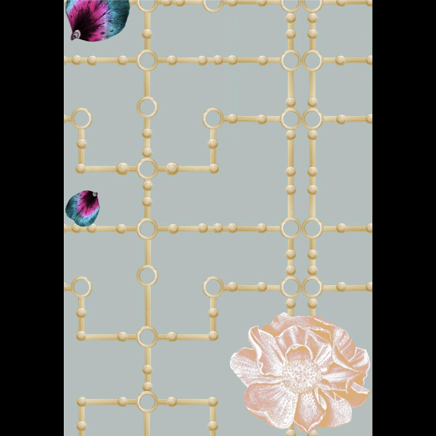 Kit Miles Orchidée Quinn   Sauge / Rose