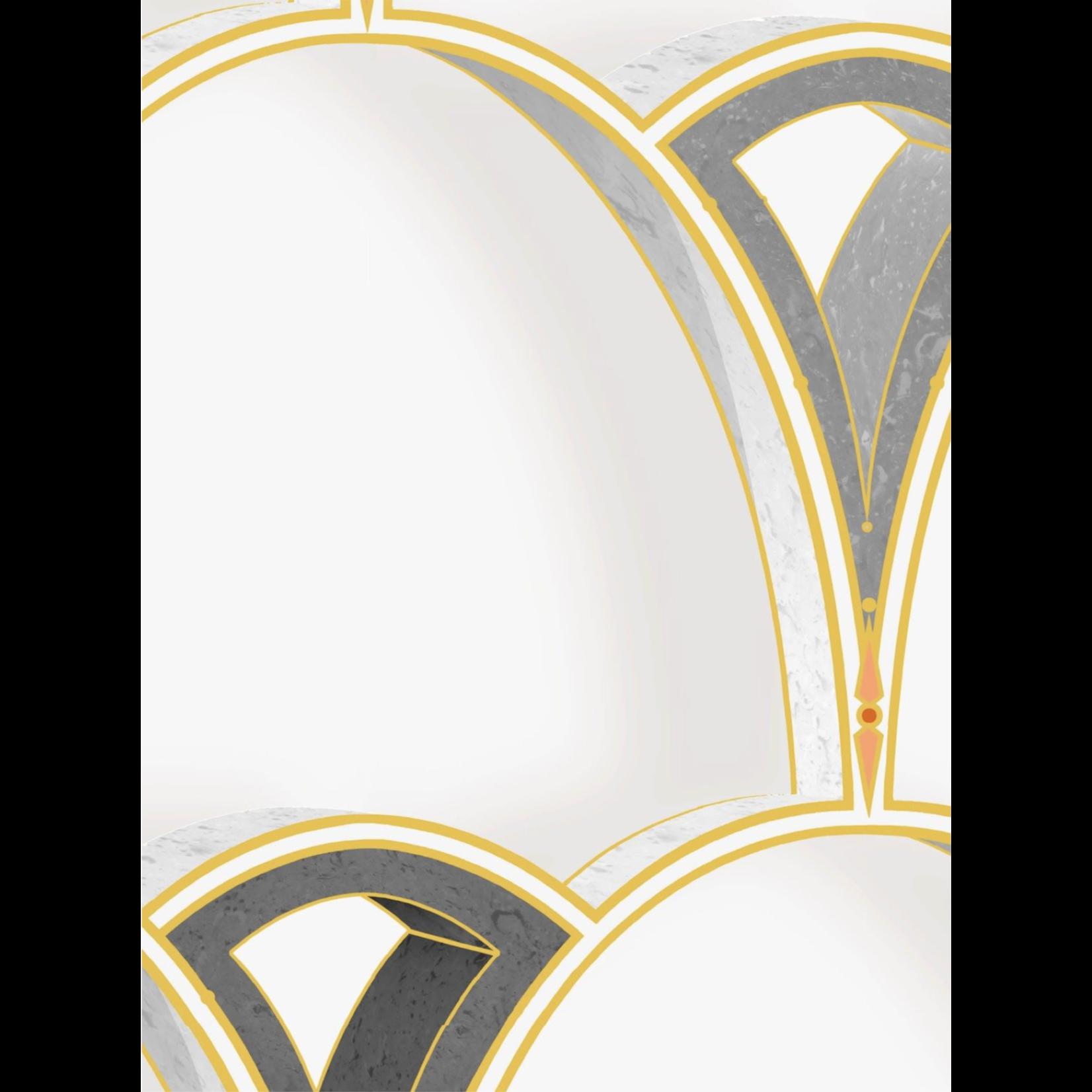 Kit Miles Tiber Archways | Gold over Slate