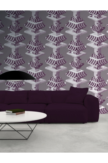 Kit Miles Black Lodge | Purple