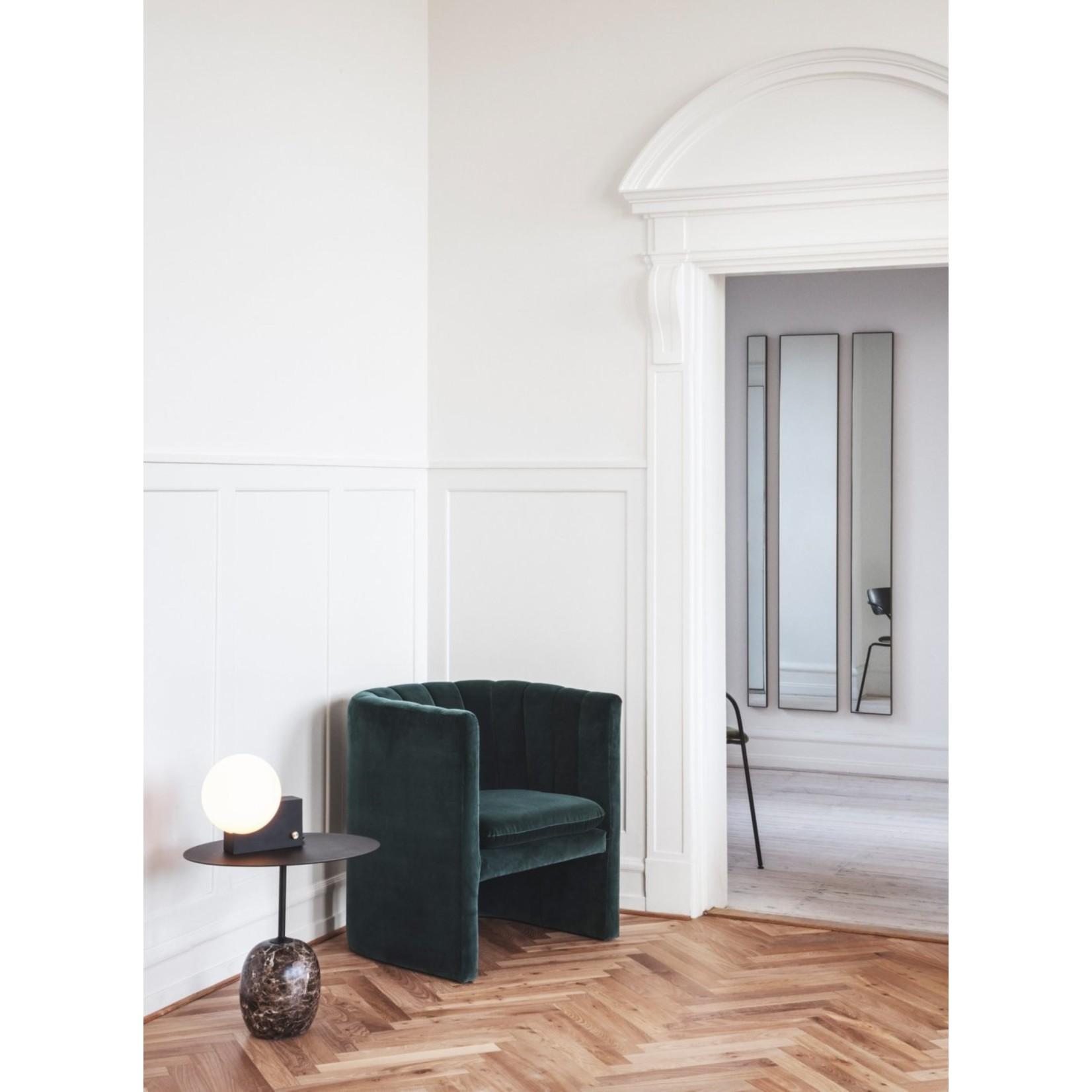 &Tradition Bijzettafel Lato LN9   Warm Black & Emperador Marble
