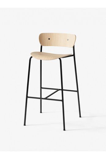 &Tradition Pavilion AV7 barstool 65 cm | Lacquered oak