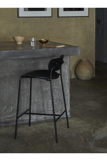 &Tradition Pavilion AV9 tabouret de bar 75 cm | Chêne laqué noir