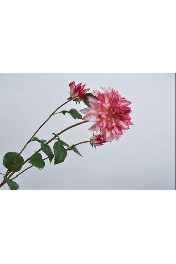 Silk-ka Dahlia acier bordeau 106 cm