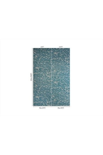 Zinc Cazenove Wallcoverings   Maurier Wallcovering Tungsten