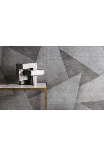 Zinc Cazenove Wallcoverings | Deveraux Wallcovering Graphite