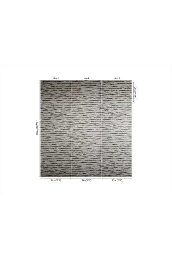 Zinc Revêtements muraux Cazenove | Abercrombie Wallcovering Teal