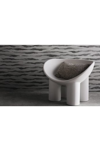 Zinc Cazenove Wallcoverings | Abercrombie Wallcovering Tungsten