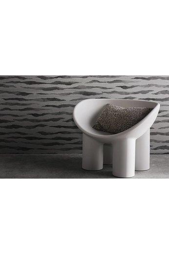 Zinc Revêtements muraux Cazenove   Abercrombie Wallcovering Tungsten