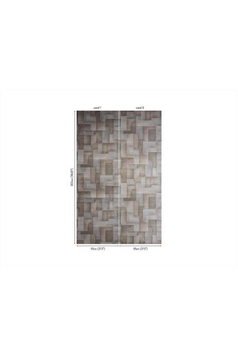 Zinc Cazenove Wallcoverings | Colby Wallcovering Graphite