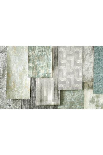 Zinc Revêtements muraux Renzo | Anta Wallcovering Verdigris
