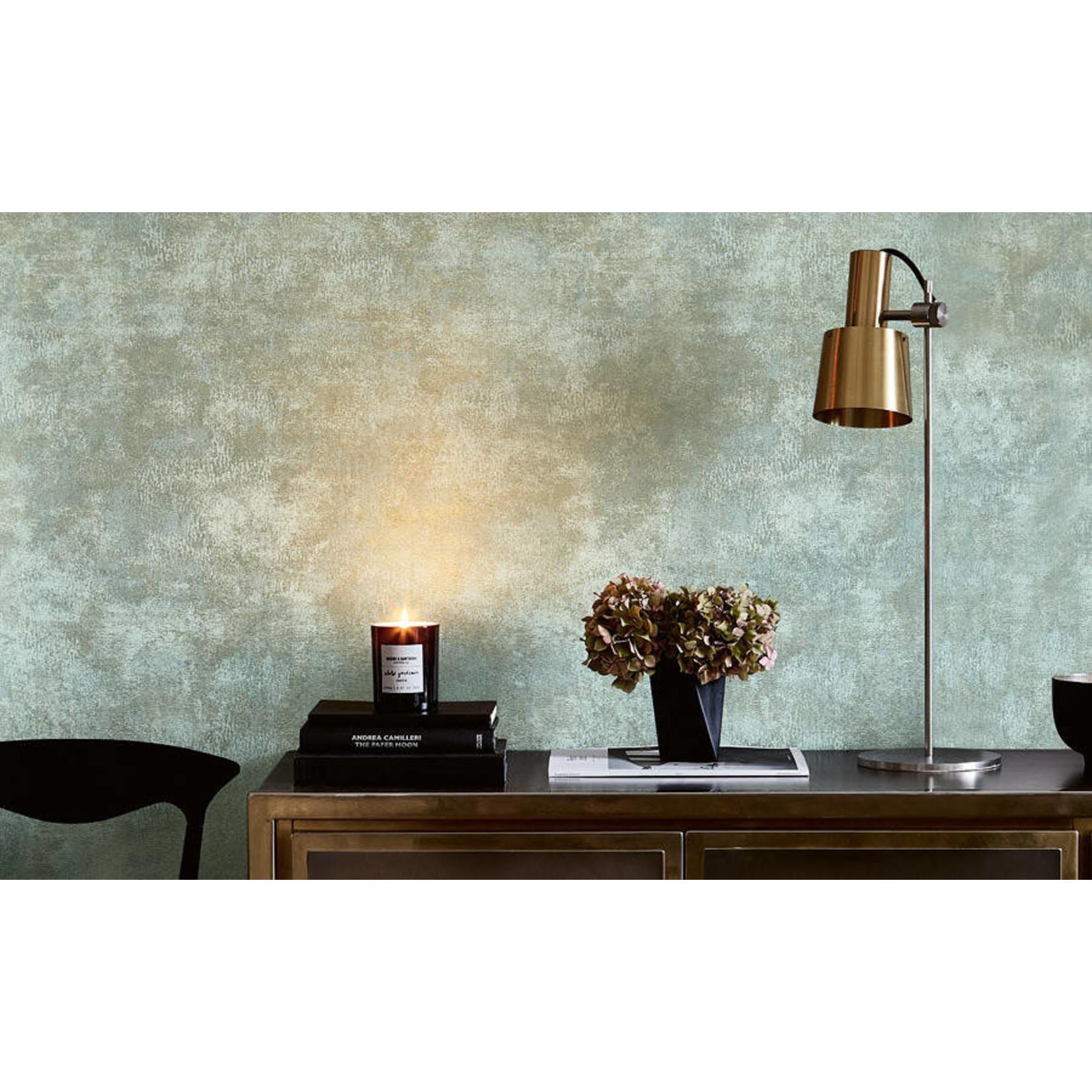 Villa Nova Renzo Wallcoverings | Arriccio Verdigris