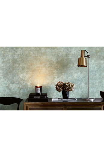 Zinc Renzo Wallcoverings | Arriccio Verdigris