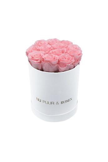 Small - Roses Éternel Rose - Boîte Blanche
