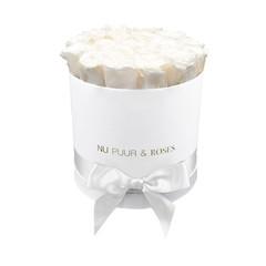Medium - White Endless Roses - White Box