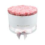 Extra Large - Pink Endless Roses - White Box