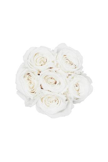 Mini - White Endless Roses - Black Box