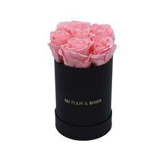 Mini - Pink Endless Roses - Black Box