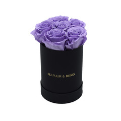 Mini - Lilac Endless Roses - Black Box