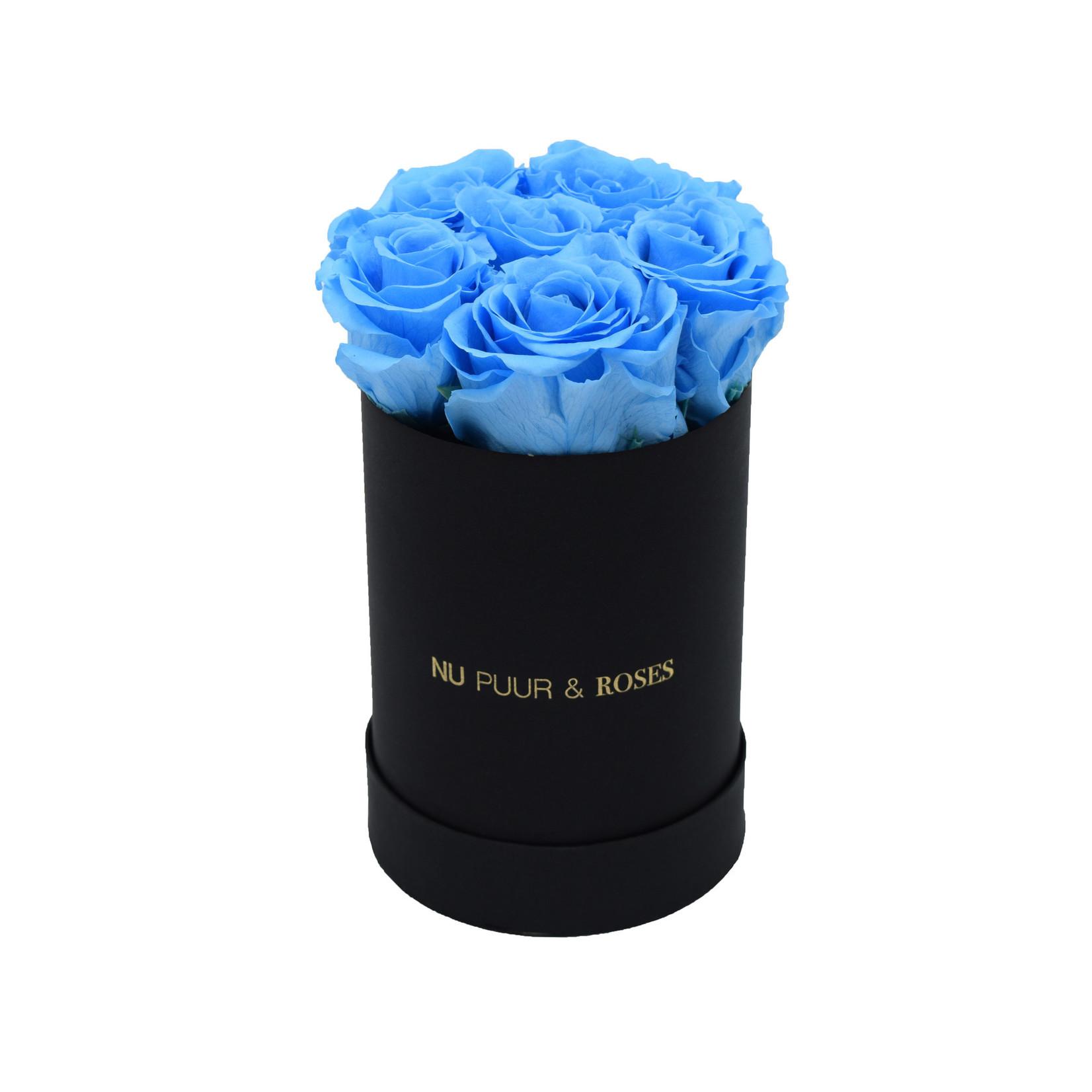 Mini - Roses Éternel Bleu - Boîte Noire