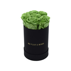Mini - Green Endless Roses - Black Box