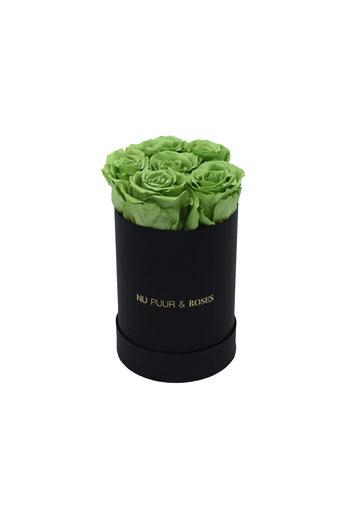 Mini - Green Endless Roses - Black Box
