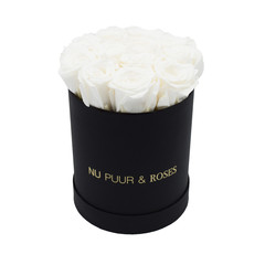 Small - Roses Éternel Blanches - Boîte Noire