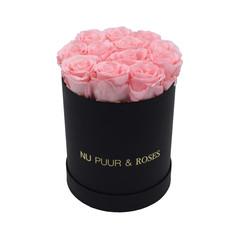 Small - Pink Endless Roses - Black Box