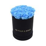 Small - Blue Endless Roses - Black Box