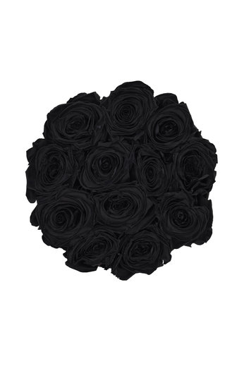 Small - Black Endless Roses - Black Box