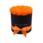 Medium - Orange Endless Roses - Black Box
