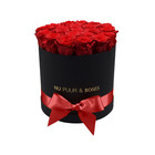 Medium - Roses Éternel Rouge - Boîte Noire