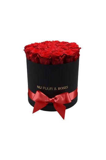 Medium - Red Endless Roses - Black Box