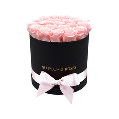 Medium - Pink Endless Roses - Black Box