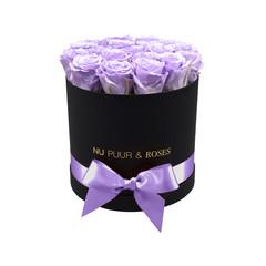 Medium - Roses Éternel Lilas - Boîte Noire