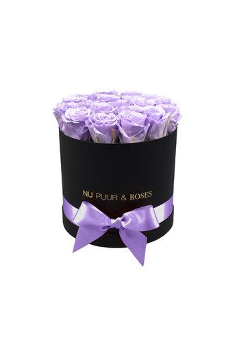 Medium - Lilac Endless Roses - Black Box