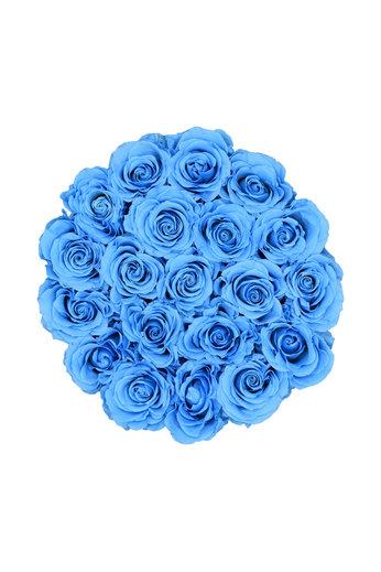 Medium - Blue Endless Roses - Black Box