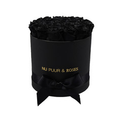 Medium - Black Endless Roses - Black Box