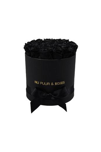 Medium - Roses Éternel Noir - Boîte Noire