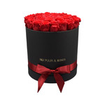 Large - Red Endless Roses - Black Box